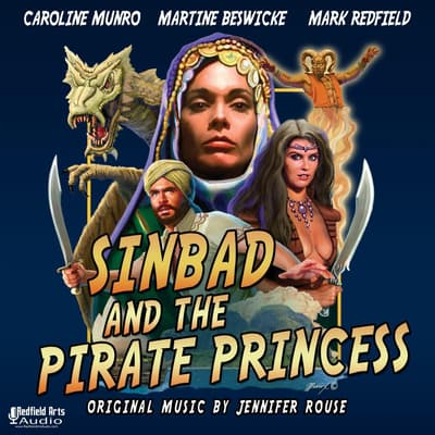 Sinbad and the Pirate Princess by Mark Redfield audiobook