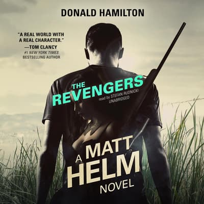 The Revengers by Donald Hamilton audiobook