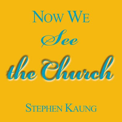 Now We See the Church by Stephen Kaung audiobook