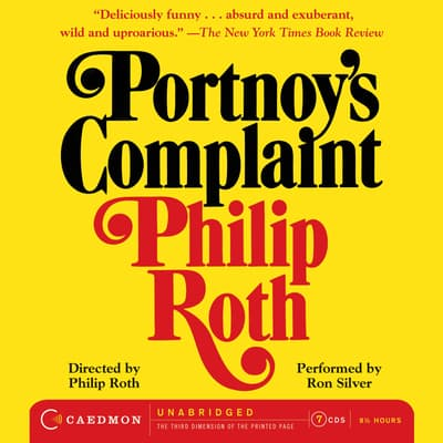 Portnoy's Complaint by Philip Roth audiobook