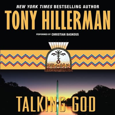 Talking God by Tony Hillerman audiobook