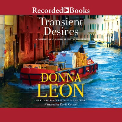 Transient Desires by Donna Leon audiobook