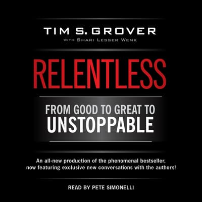Relentless by Tim S. Grover audiobook