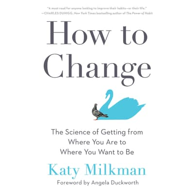 How to Change by Katy Milkman audiobook