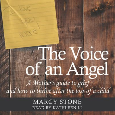 The Voice of an Angel by Marcy Stone audiobook