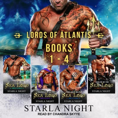 Lords of Atlantis Boxed Set by Starla Night audiobook
