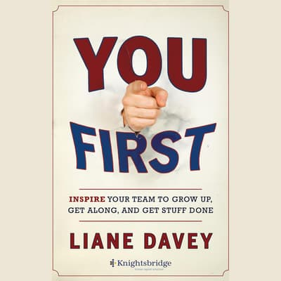 You First by Liane Davey audiobook