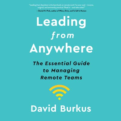 Leading from Anywhere by David Burkus audiobook