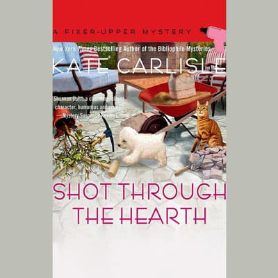 Shot Through the Hearth by Kate Carlisle audiobook